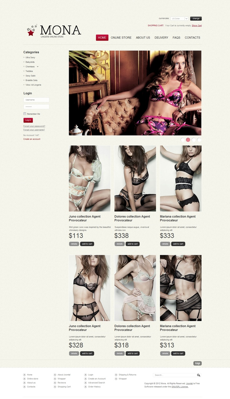 Mona - Virtuemart Template | #webdesign #it #web #design #layout #userinterface #website #webdesign <<< repinned by an #advertising #coffee #agency from #Hamburg / #Germany - www.BlickeDeeler.de | Follow us on www.facebook.com/BlickeDeeler