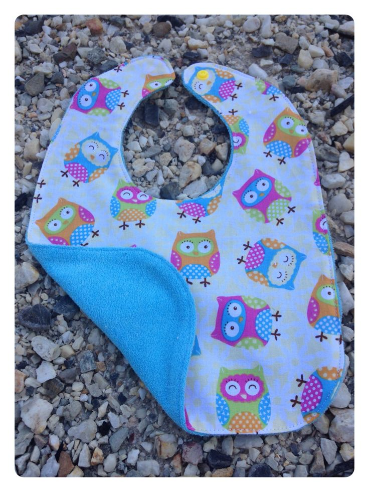 Little Owls. Cotton Front and Back. $3 1 in Stock.