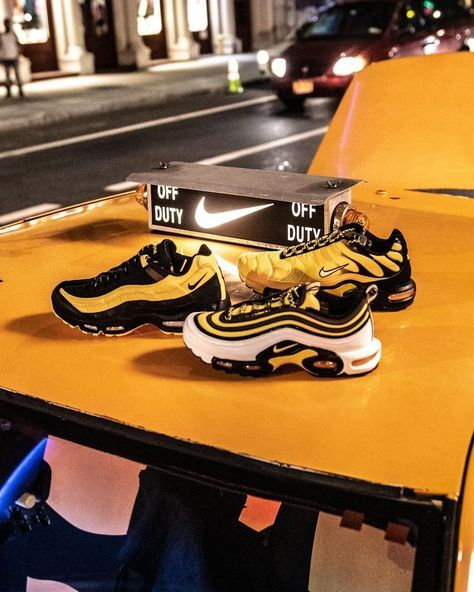 07626d73db Throw it back to the old school! 🚕 #Nike Air Frequency Pack.  #DiscoverYourAir Launching 9/14 at Foot Locker!
