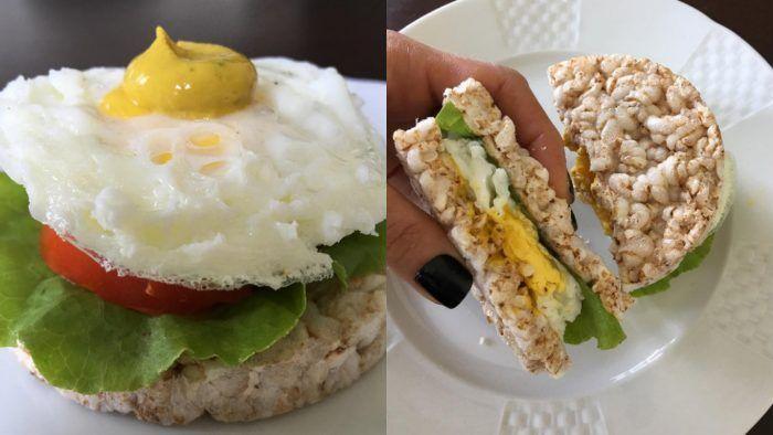 Com o EggFit podemos fazer desde cafés da manhã deliciosos como até um lanche pré-treino energético e superprático.