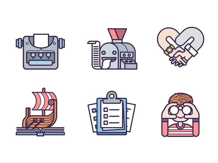 Tiny Icon Animations by Fabricio Rosa Marques