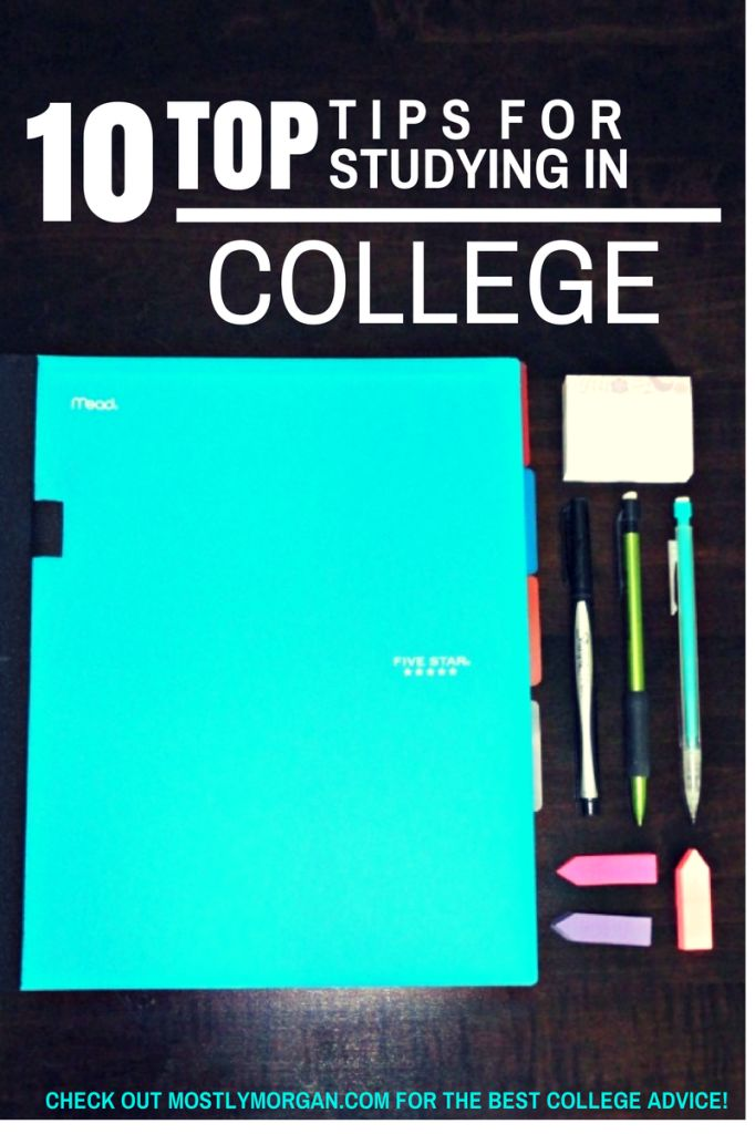 Morgan Timm / July 30, 2014The BEST Study tips for College.The BEST Study tips for College. | Mostly Morgan: