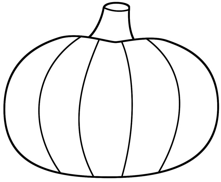 Printable Pumpkin Coloring Pages