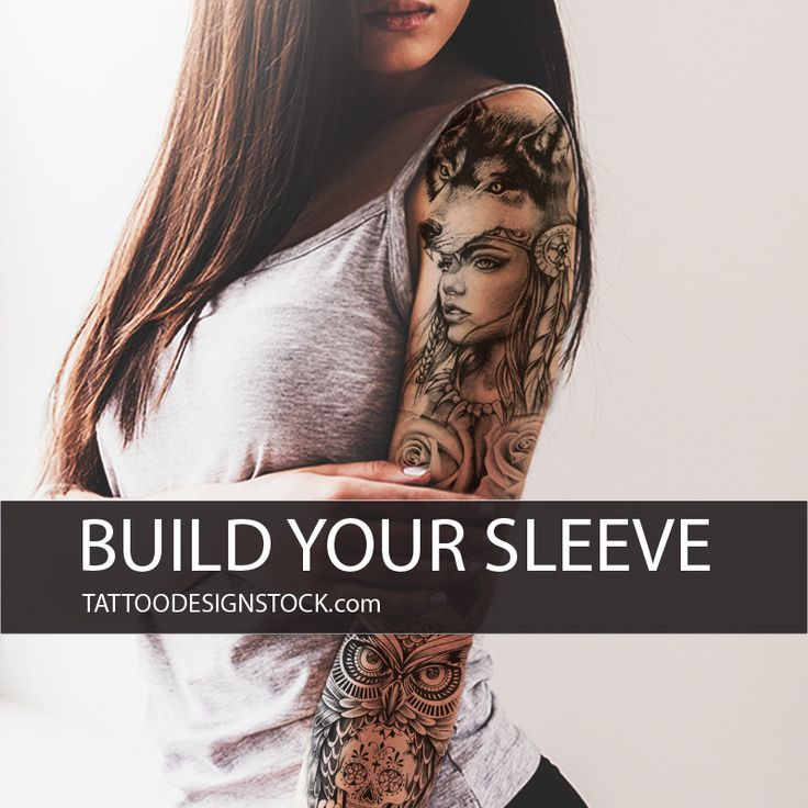 """Design Your Own Tattoo Sleeve: """"We Give To You Hundreds Of Possibilities For Create Your"""