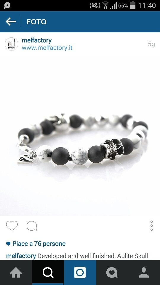 White passion and silver skulls.. By your best italian stylish  www.melfactory.it