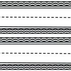 This set of black chevron name plates would add some fun to any classroom and go great with any theme! Each 8 1/2 by 11 page has two nameplates.  T...