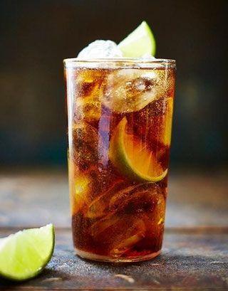 Receta Cuba libre cocktail - La Mala Vida