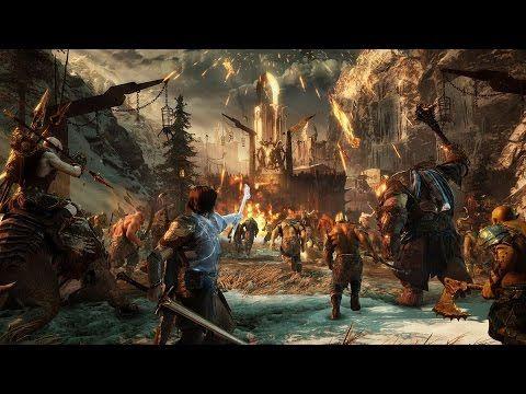 미들어스: 섀도우 오브 워 첫공개 15분 게임플레이 (한글자막) 60fps