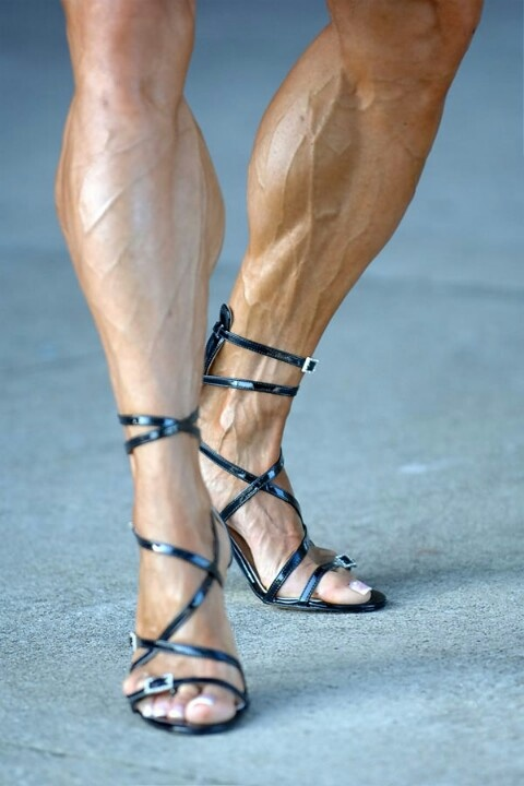 how to get cut legs female