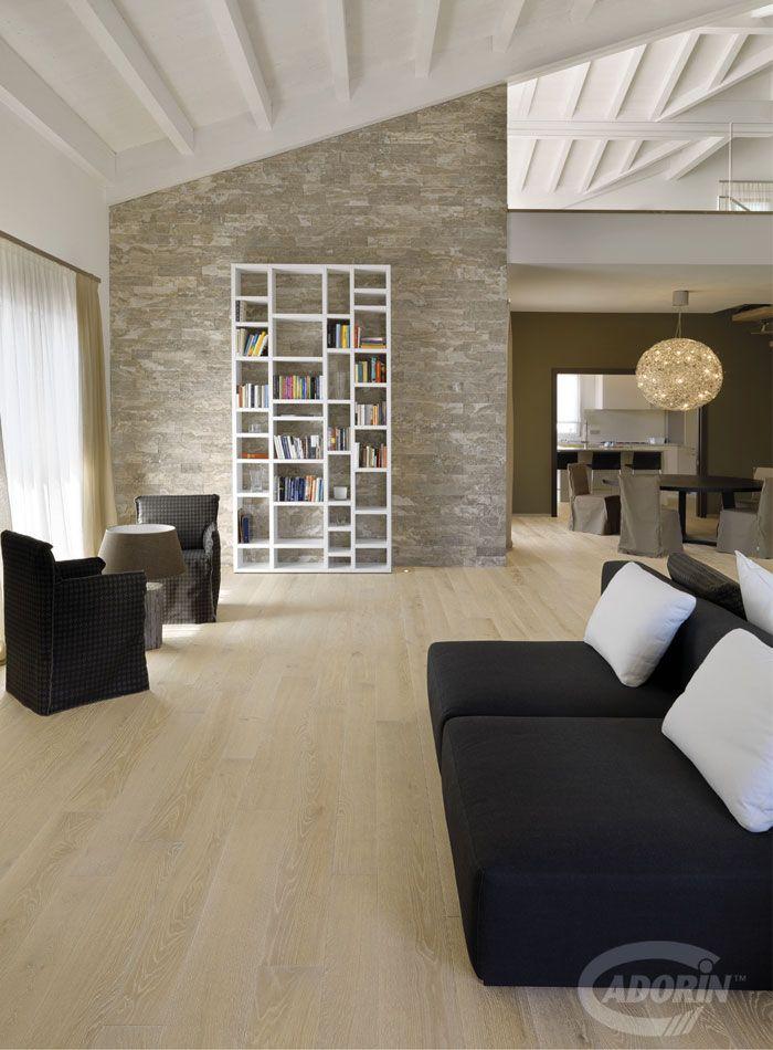 WOODEN FLOORS - European knotted Oak. PAVIMENTO IN LEGNO - Rovere nodino Europeo #cadorin oak wood flooring - italian top quality wood flooring - Hardwood three layers floors @cadoringroup