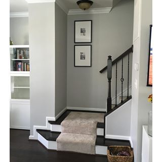 Light french gray paint color sw 0055 by sherwin williams - Light gray exterior paint colors ...