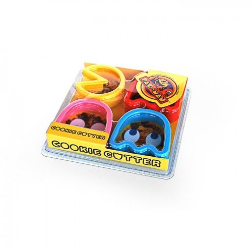 Pac man Cookie Cutters on Yellow Octopus #pacman #cookie #cutters  #halloween