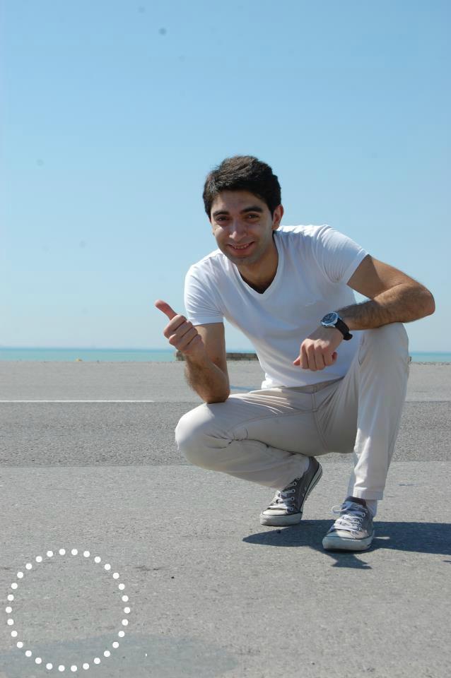 Baku singer. Elvin Babashov.