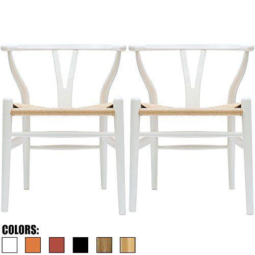 2xhome - Set of Two (2) - White - Wishbone Wood Arm Chair... https://www.amazon.com/dp/B01MAVZNAN/ref=cm_sw_r_pi_dp_x_nN0EybX88BSA8
