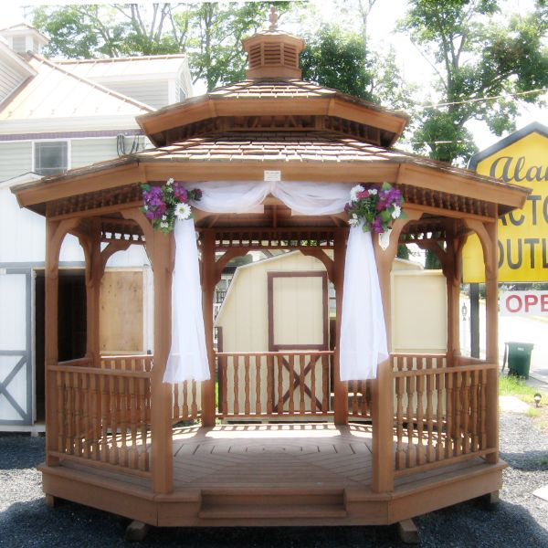 Cute Outdoor Wedding Ideas: 90 Best Images About Gazebo Weddings On Pinterest