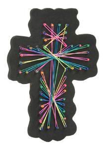 String Art Cross (Pkg 12) - I.D. VBS