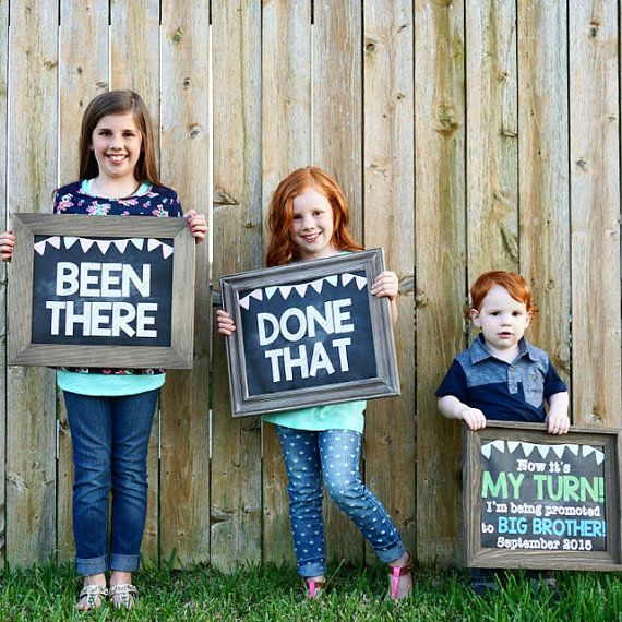 Big Brother Announcement New Big Brother by ChalkingItUpBoards – Baby Announcement Ideas to Family