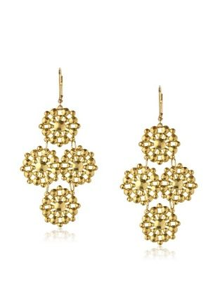 44% OFF We Dream in Colour Grand Leila Earrings, Gold