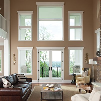 27 best andersen window styles images on pinterest for Double hung french patio doors