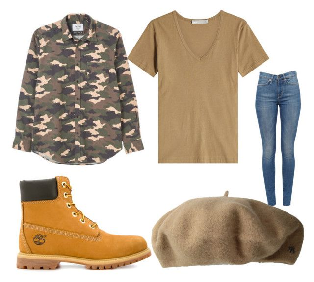 """""""Khaki-ed Out"""" by muffinm on Polyvore featuring Timberland, Vince and Lauren Ralph Lauren"""