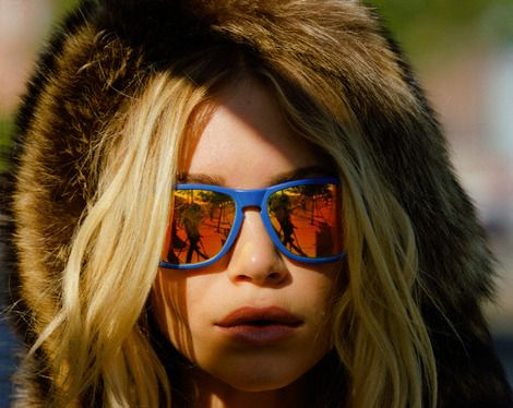 Mary Kate Olsen on Nylon Photoshoot with Oakley's Frogskins