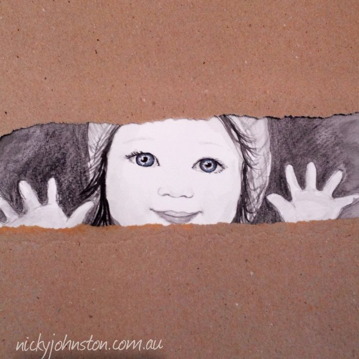 "Nicky Johnston Illustration Challenge - May | Nicky Johnston. ""Boxes"" was the theme - illustrated by Nicky Johnston www.nickyjohnston.com.au"