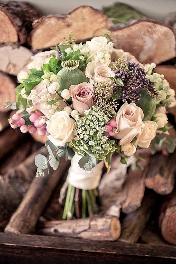 30 Prettiest Small Wedding Bouquets to Have and to Hold ❤ Small wedding bouquets are more comfortable for holding and can perfectly accent your style. See more: http://www.weddingforward.com/small-wedding-bouquets/ #wedding #bouquets