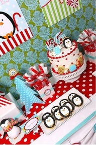 Table scape b-day-party-ideas