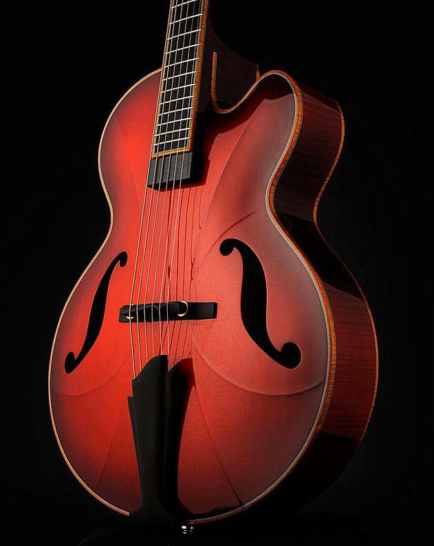 Semi-Acoustic Archtop Jazz Guitar