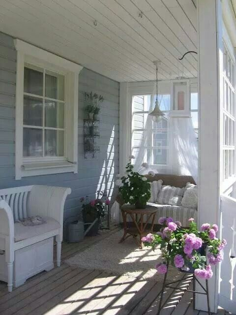 229 best images about cute country porches on pinterest for Cute front porches
