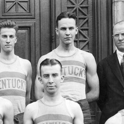 Kentucky.  Basketball Champions of the South 1921