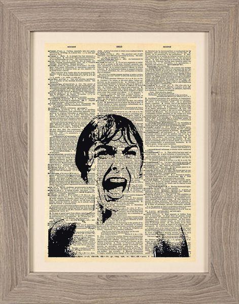 Cinematic - Stampa Psycho di Framenti Design su DaWanda.com