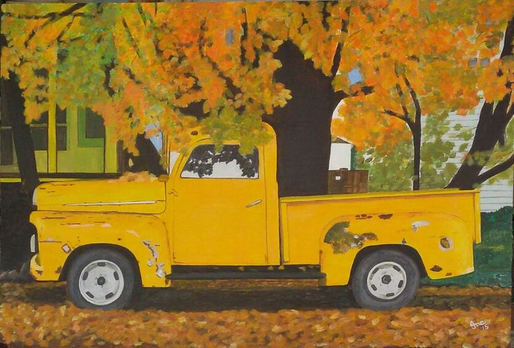 "Old Yellow "" Bakkie"""
