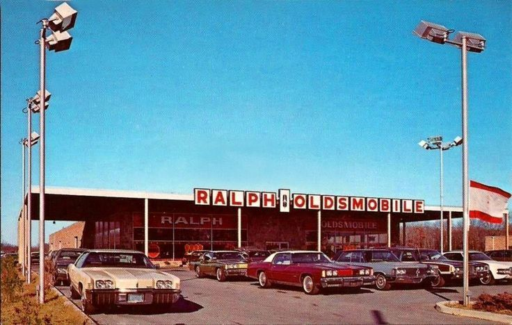 1973 Ralph Oldsmobile Dealership Smithtown Long Island New York Oldsmobile Vintage Muscle Cars Car Places