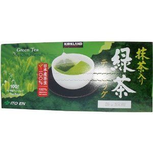 Surprisingly good green tea w/ matcha from Costco. A Chowhound favorite.