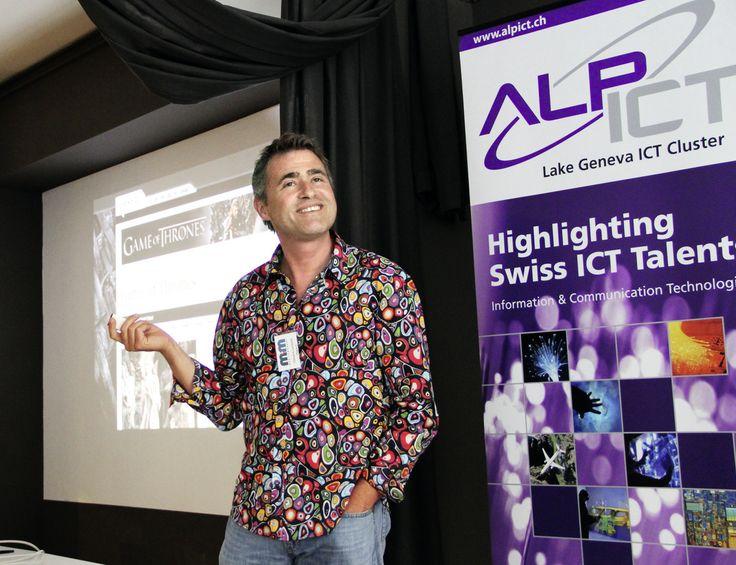 Comment réussir dans le numérique. Edouard Lambelet, cofondateur de la plateforme de curation de contenus paper.li. © François Wavre/Rezo
