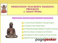 Best Online Meditation Teacher's Training and Certification Program