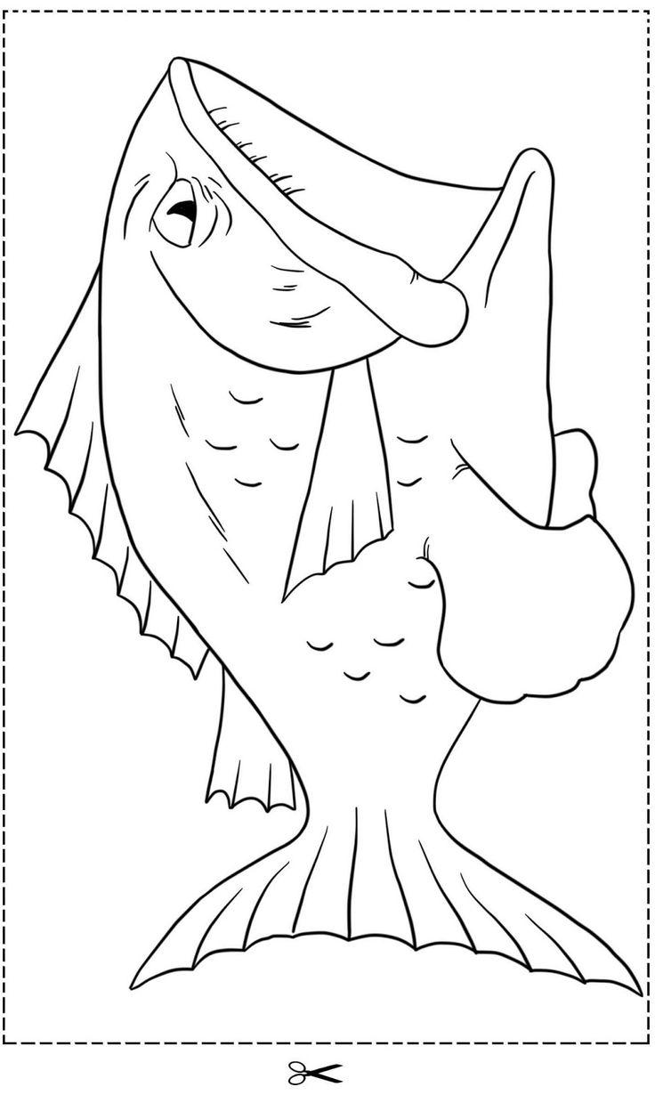 Jonah sunday school craft - Fish For Jonah