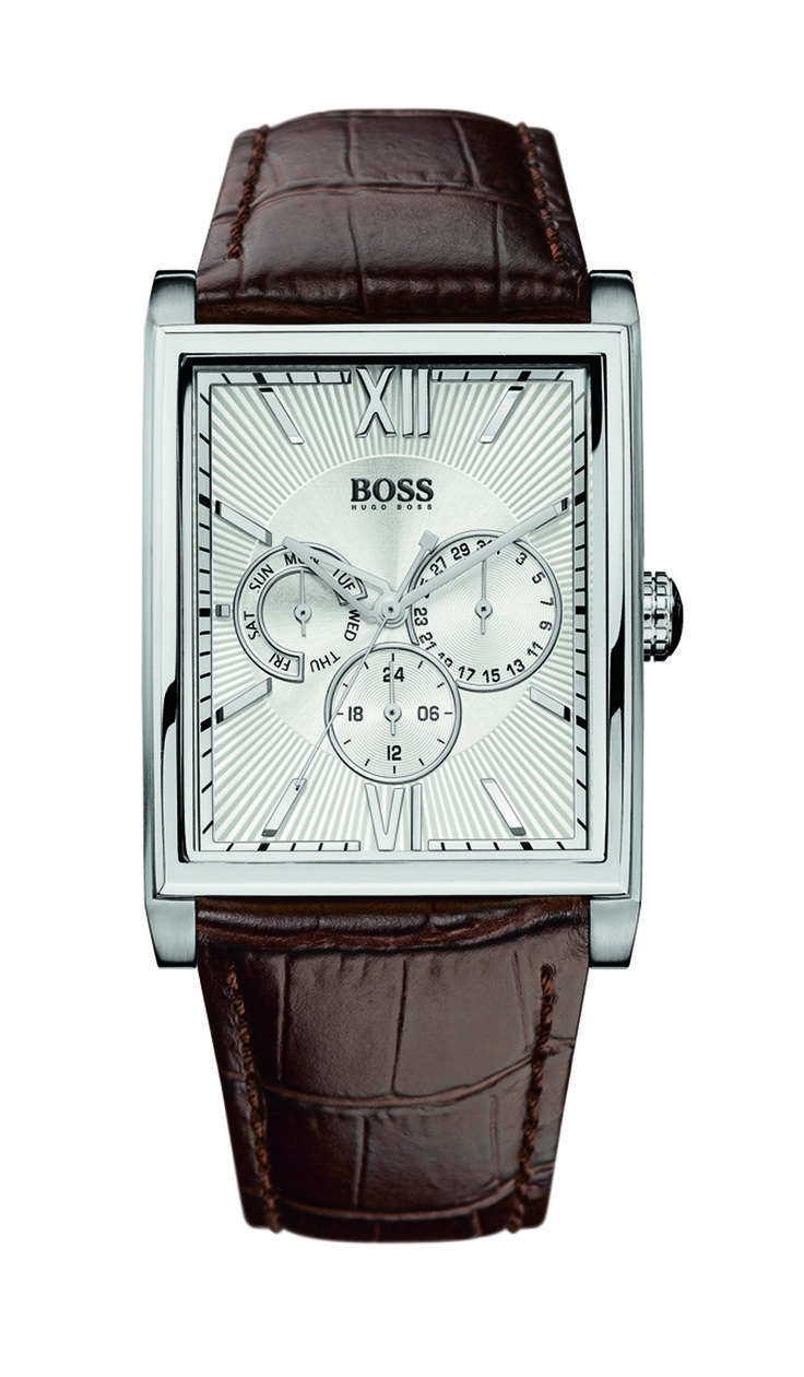 Boss Uhr 1512402 HB-2003 Multi silber/braun