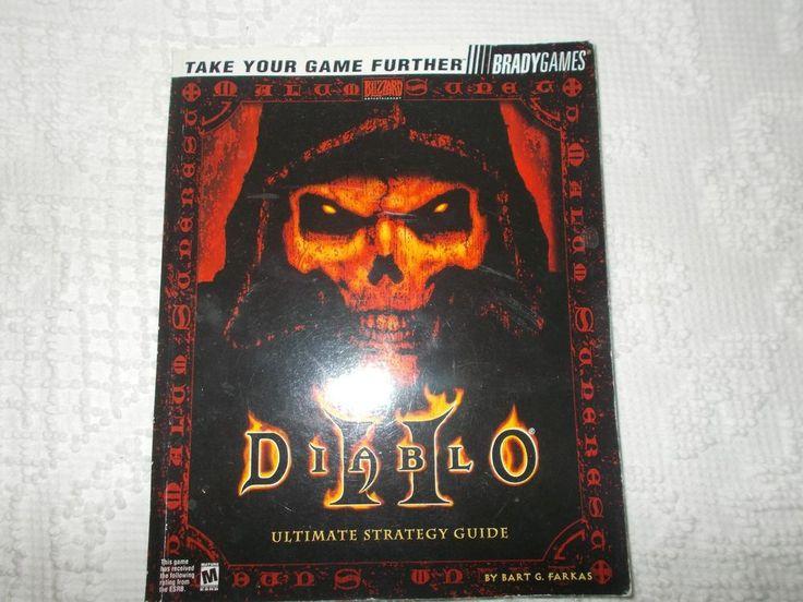 Diablo II 2 Strategy Guide Brady Games