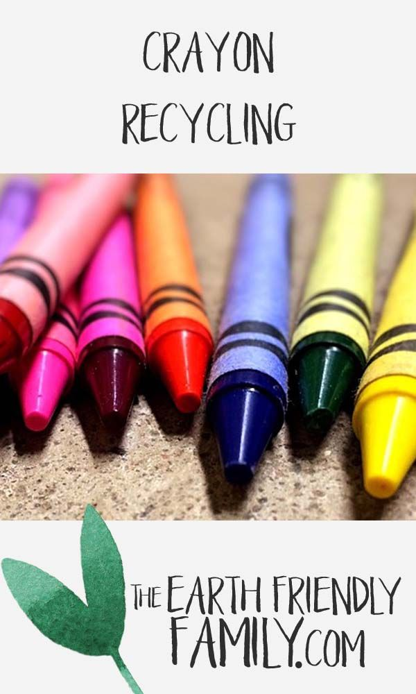 Check out this great video on recycling crayons. See the video here: http://www.theearthfriendlyfamily.com/crayon-recycling/