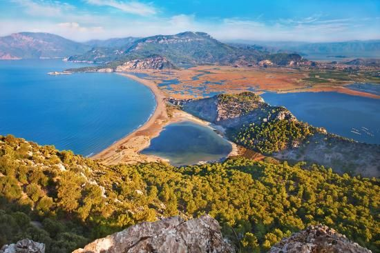 Iztuzu Beach, Dalyan - This beautiful beach is perfect for swimming and is actually one of the Mediterranean nesting sites for the loggerhead turtle.