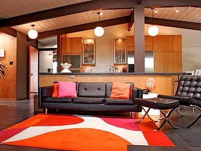 Pink And Orange Living Room. Part 58