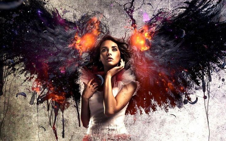 mujeres niñas hembras Babes ángeles fantasía sensual fuego llamas caídos cg auriculares de arte digital de la música in Música. Toneladas de calidad HD gratis para descargar fondos de pantalla y fondos de escritorio y móviles