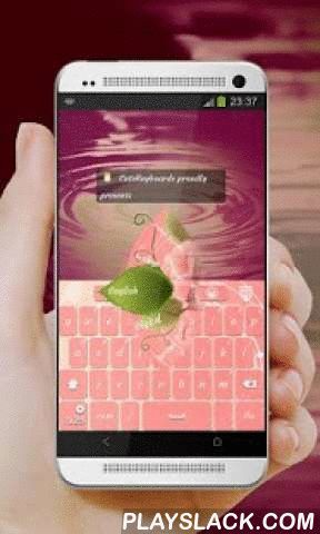 """Pink Rose GO Keyboard  Android App - playslack.com ,  Dit is de GO Keyboard """"roze nam"""" thema door CuteKeyboards.Roze roos.Het brengen van een opvallende nota aan elk display, dit kastanjebruine GO Keyboard geïnspireerd door bloesem, roze, roze en zuiverheid is precies wat je nodig hebt in humeurig tijden.Een enkele roos kan mijn tuin… een enkele vriend, mijn wereld te zijn.Deze GO Keyboard thema is één van de weinige die er zijn die vooruitgang kan uitstoten vanwege de bijzondere nuances van…"""