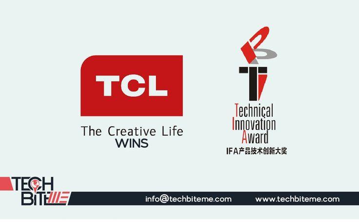 TCL Wins Prestigious 2017 IFA Product Technical Innovation Awards