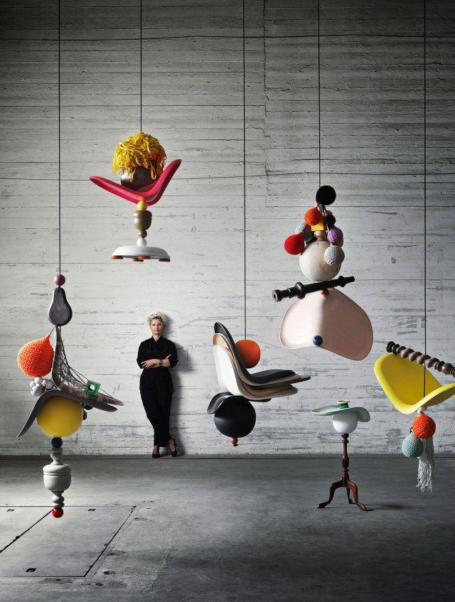 Extreme Knitting by Danish Textile Designer Isabel Berglund   //   via Yellowtrace