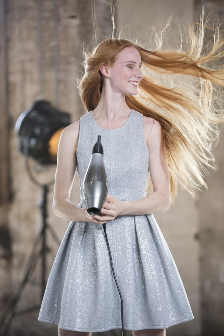 The gorgeous singing sensation Celia Pavey testing out our 3Q Hairdryer #hairenvy