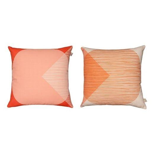 Orla Kiely House OK Red Cushion