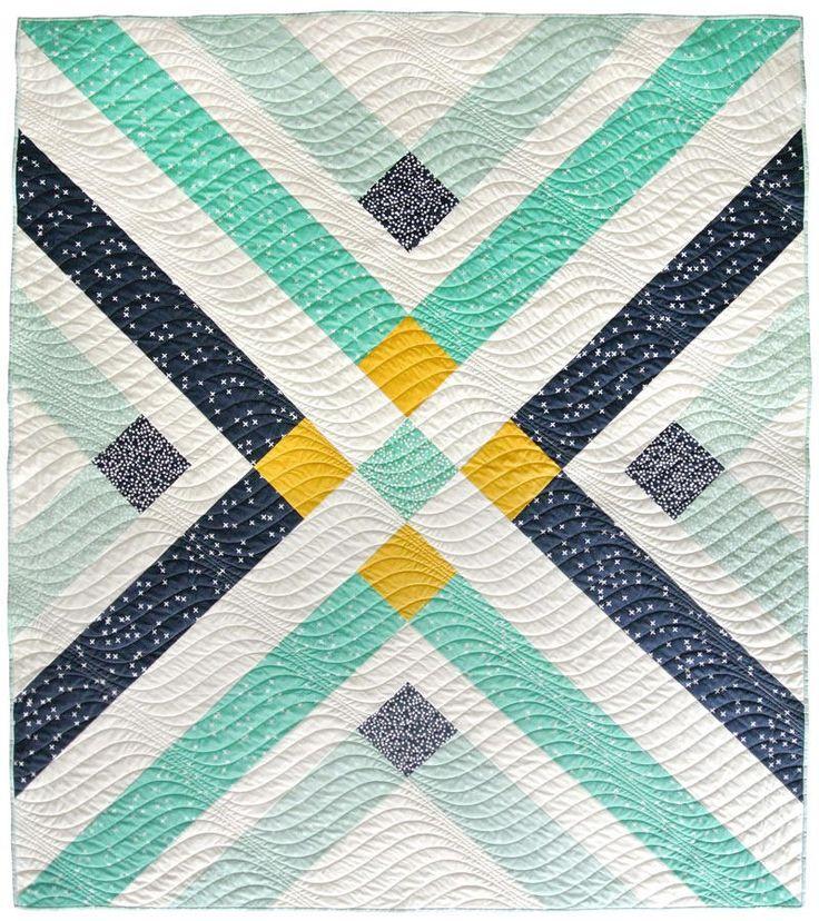 Retro Plaid Quilt Pattern | A little bit vintage, a little bit modern, a whole lot of color with this free quilt pattern!